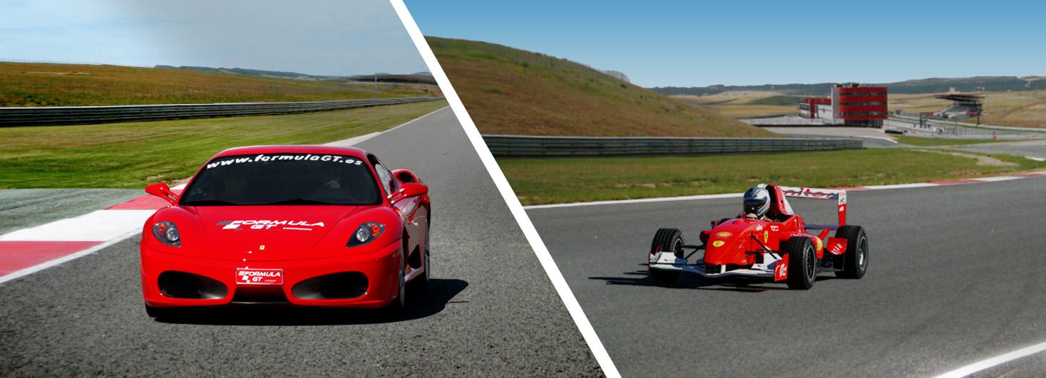 Conducir un Ferrari F430 F1 y un Fórmula en el circuito Los Arcos (Navarra)