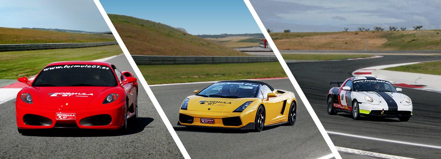 Conduce un Ferrari F430 F1, un Lamborghini Gallardo y un Porsche Boxster en el circuito Los Arcos (Navarra)