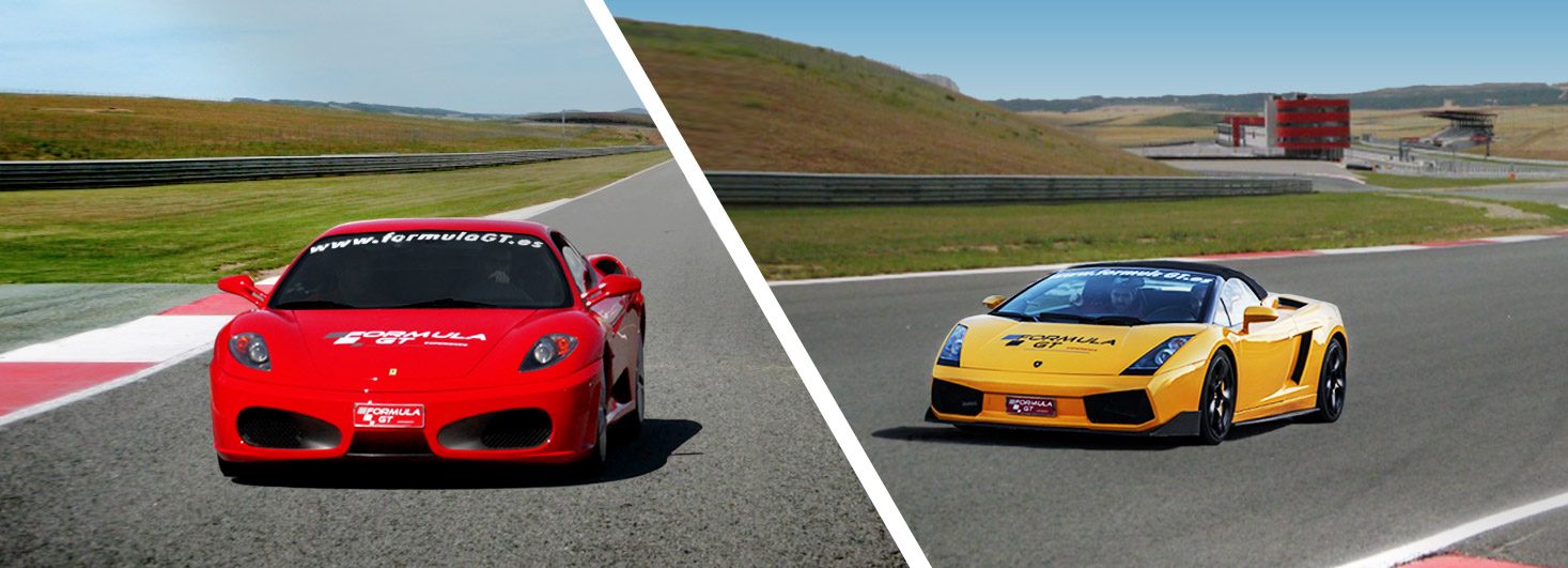 Conducir un Ferrari F430 F1 y un Lamborghini Gallardo en el circuito Los Arcos (Navarra)