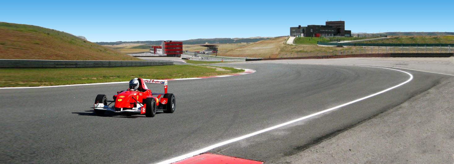 Conducir un Fórmula en Los Arcos (Navarra)
