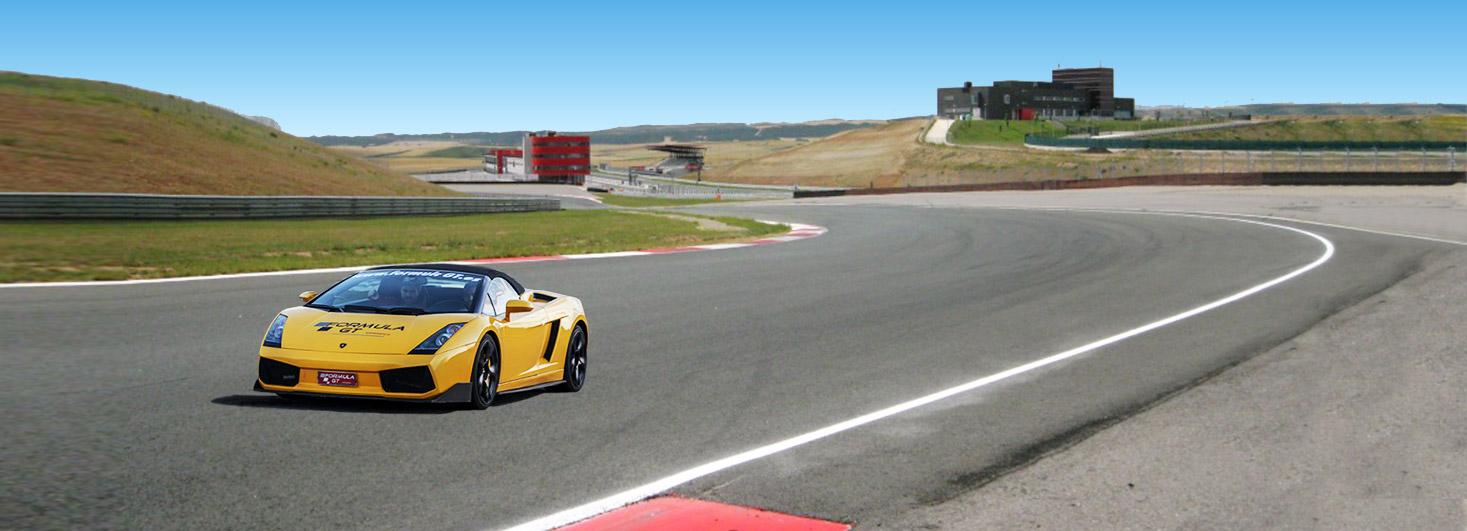 Conducir un Lamborghini Gallardo en Los Arcos (Navarra)