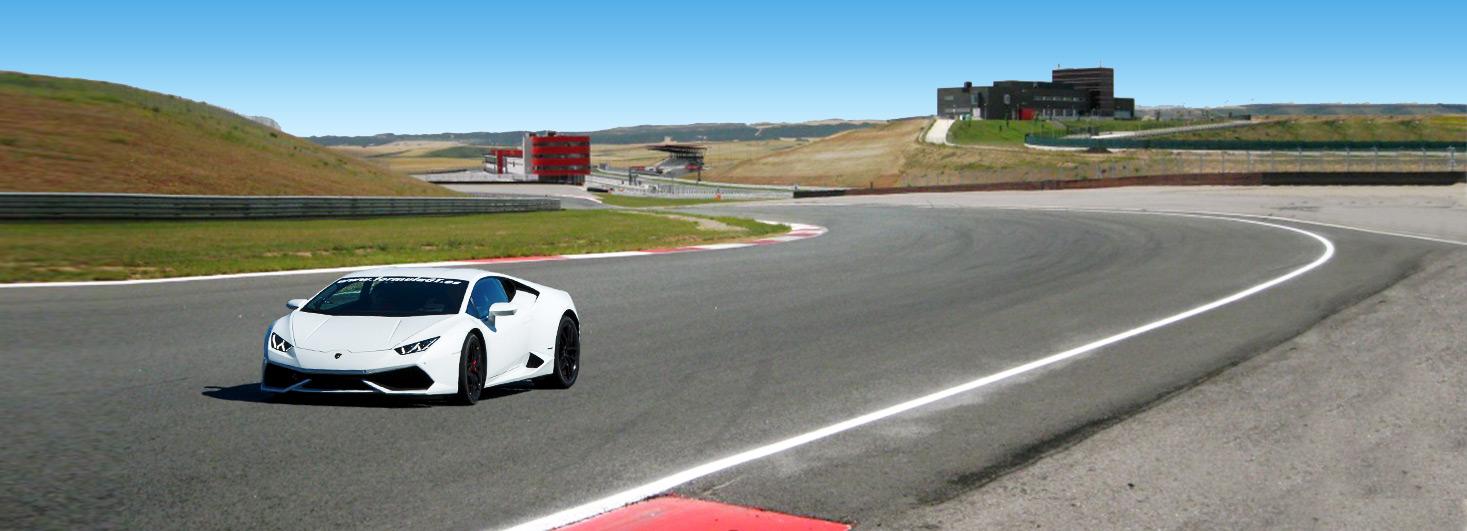 Conducir un Lamborghini Huracan en el circuito Los Arcos (Navarra)